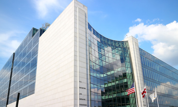 U.S. Securities & Exchange Commission building in Washington, D.C. August 21, 2013. Photo by Diego M. Radzinschi/THE NATIONAL LAW JOURNAL.