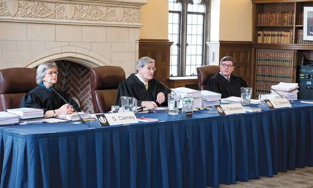 Second Circuit Hearing at UConn Law School, sponsored by the Moot Court Board