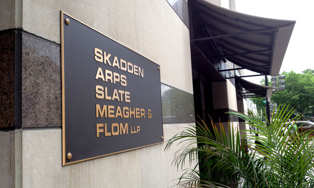 Skadden, Arps, Slate, Meagher & Flom offices in Washington, D.C.
