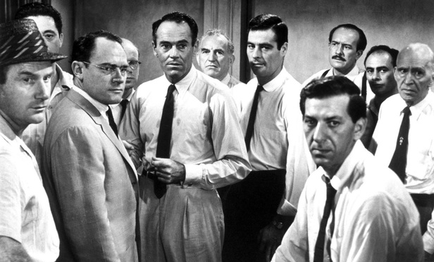 Still from the film 12 Angry Men.
