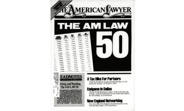 American Lawyer Rankings 2016