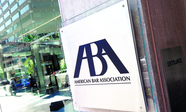 The American Bar Association's offices in Washington, D.C.