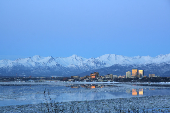 Anchorage, Alaska. Credit: JonnyNoTrees/iStockphoto.com.