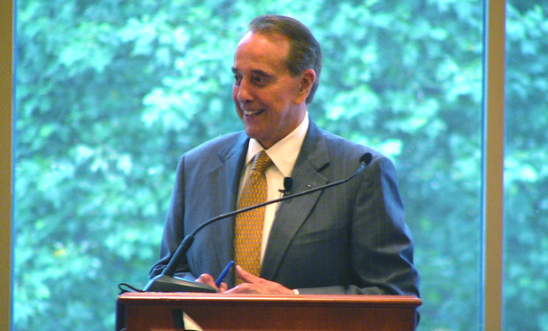 Alston & Bird's Bob Dole. Photo by: Michael Whetstine. Photo July 19, 2005.