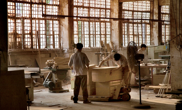 Chinese Furniture Factory in the Guangdong Province, China