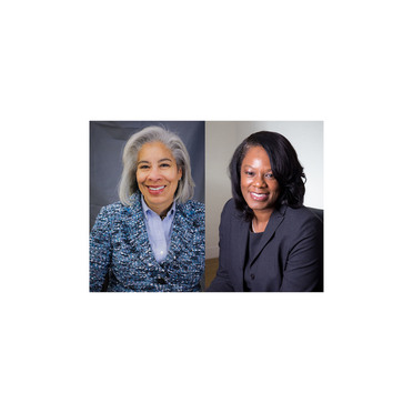 Leslie Richards-Yellen, left, and Kathy Bowman-Williams, right.