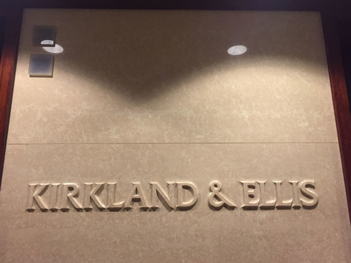 Kirkland & Ellis offices in Washington, D.C. Photo by Diego M. Radzinschi/THE NATIONAL LAW JOURNAL.