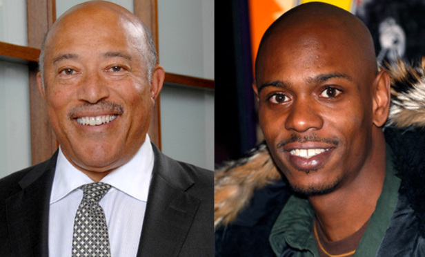 Squire Patton Boggs partner Fred Nance and comedian Dave Chappelle