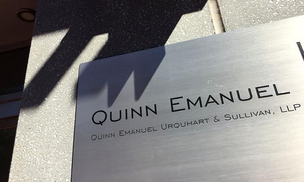 Quinn Emanuel Brings Back Its Real-Life Olivia Pope