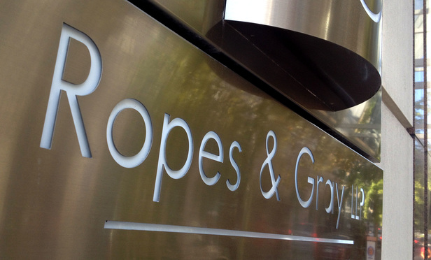 Ropes & Gray's Washington, D.C. offices. August 29, 2014. Photo by Diego M. Radzinschi/THE NATIONAL LAW JOURNAL.