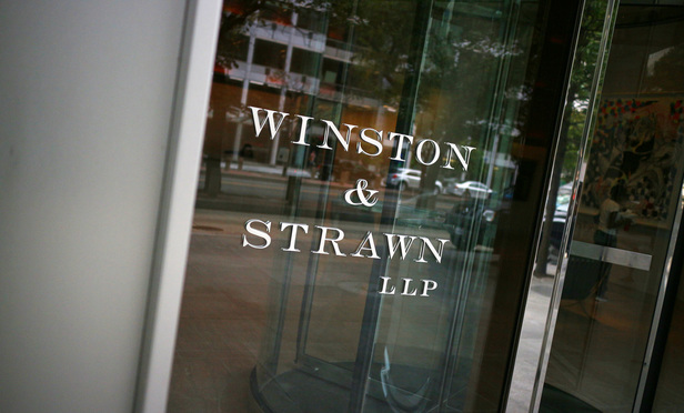 Winston & Strawn's Washington, D.C. offices on K Street.