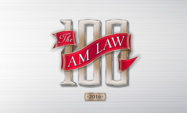The AM Law 100 logo