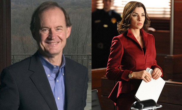 David Boies will be on The Good Wife (CBS)