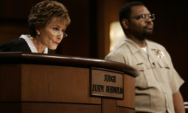 Judge Judy Files Suit Says Conn Law Firm Used Her Picture In
