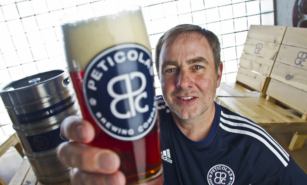 Michael Peticolas founder of Peticolas Brewing Co.