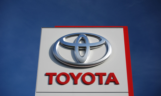 Toyota Seeks to Close Public Access to 'Purloined' Documents
