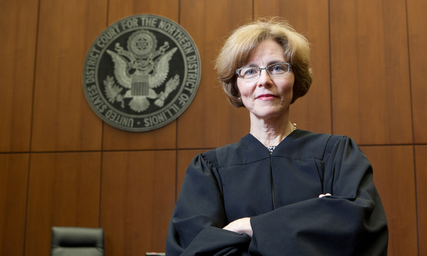 U.S. District Judge Rebecca Pallmeyer, Northern District of Illinois