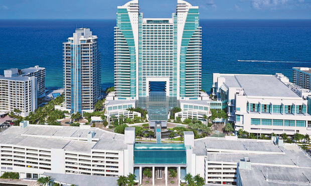 Westin Diplomat Resort at 3555 S. Ocean Dr., Hollywood