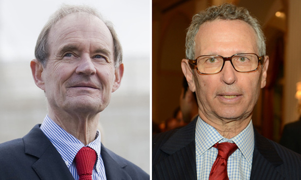 David Boies of Boies Schiller & Flexner and David Ellenhorn, senior trial counsel for the Attorney General's Office