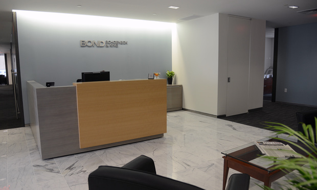 Bond Schoeneck & King's offices at 600 Third Ave.