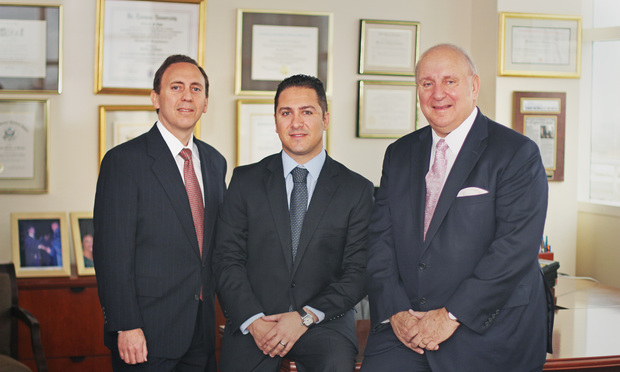 Robert J. Borrello, Herman J. Russomano III, and Herman J. Russomanno