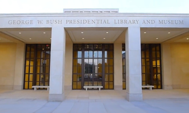 George W. Bush Presidential Library and Museum in Dallas, Tx.