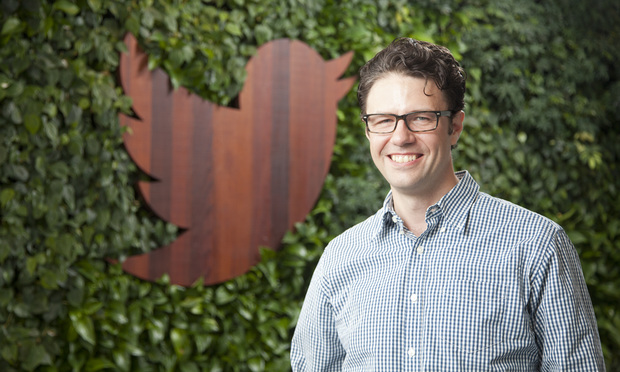 Stephen Coates, Twitter head trademark counsel