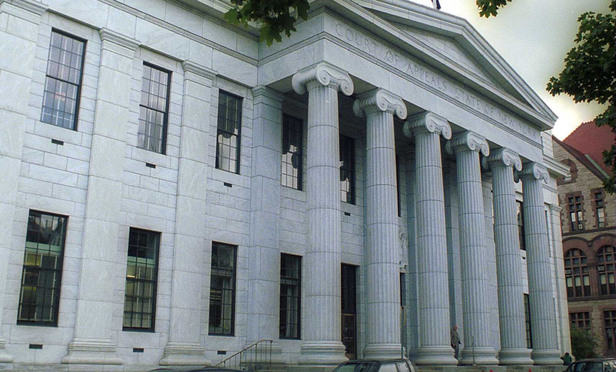 The Court of Appeals in Albany