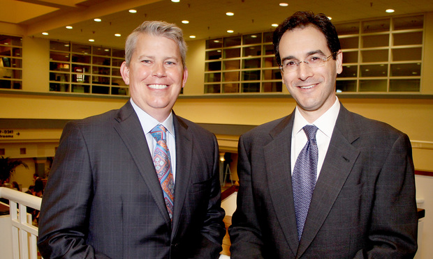 Sean Domnick and Stephen Rosenthal