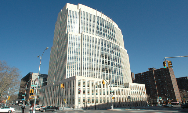 The Eastern District Courthouse in Cadman Plaza, Brooklyn