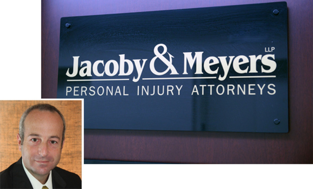 Jacoby & Meyers is the name of multiple separate law firms in the U.S. Andrew Finkelstein, managing partner in the personal injury firm Jacoby & Meyers LLP in New York, a separate entity from the bankruptcy firm, said the general public may not understand the distinction.
