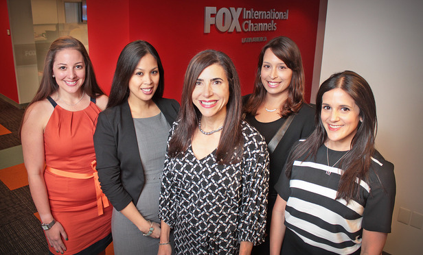 Amalie Barrocas, Counsel, Erika Estrada Boden, Executive Director, Ana Salas Siegel, SVP & Deputy General Counsel, Janet Diaz-Pujol, Executive Director, and Melany Navarro, Senior Counsel, Business and Legal Affairs, Fox International Latin America.