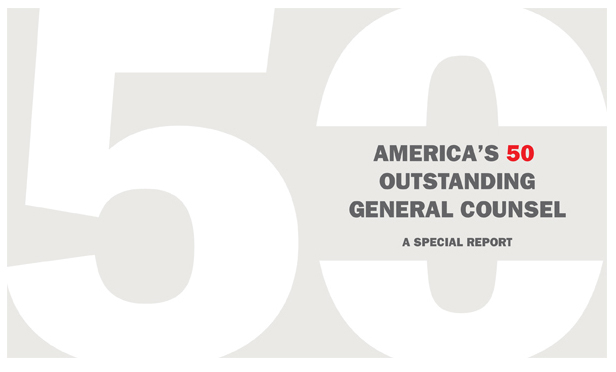 America's 50 Outstanding General Counsel
