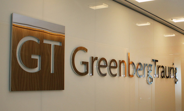 UPDATE: Greenberg Traurig Results Fed by 4% Revenue Growth