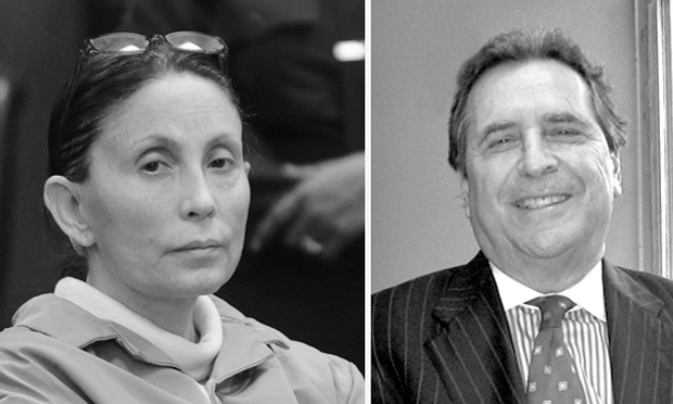 Gigi Jordan in Manhattan Supreme Court in 2010 and Norman Siegel, who has joined her defense team.