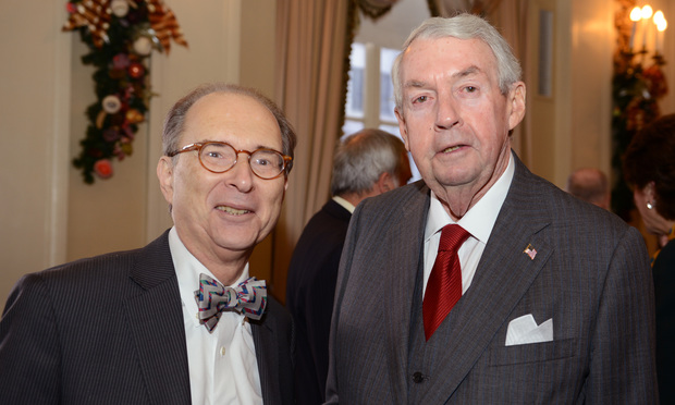 Barry Kamins and Charles Hynes