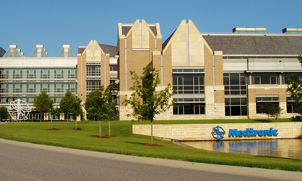 Medtronic world headquarters in Minneapolis, MN.
