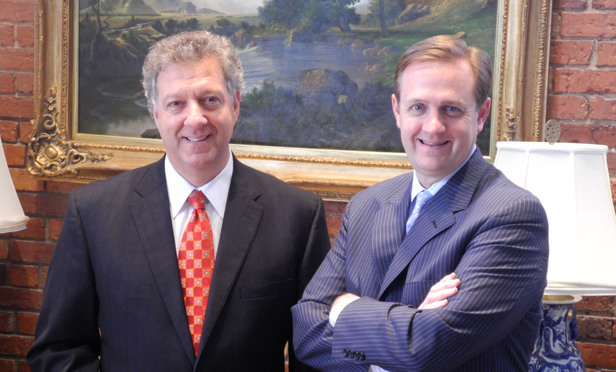 W. Daniel Dee Miles III, left, and J. Cole Portis, right, of Beasley Allen Law Firm.