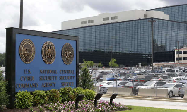 National Security Agency campus in Fort Meade, Md.