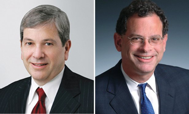 Alan Parnes, Proskauer Rose partner, and James Edelson, general counsel to Overseas Shipholding Group