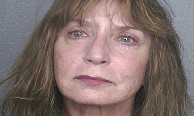 Arrest mug of Broward Circuit Judge Gisele Pollack
