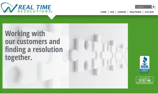 The website of debt collector Real Time Resolutions, which unsuccessfully argued that the letters sent to a debtor were not initial communications requiring a validation notice.