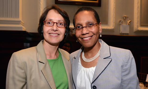 New York Court of Appeals Judges Jenny Rivera and Shelia Abdus-Salaam