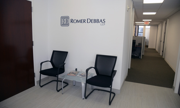 Romer Debbas at 275 Madison Ave.