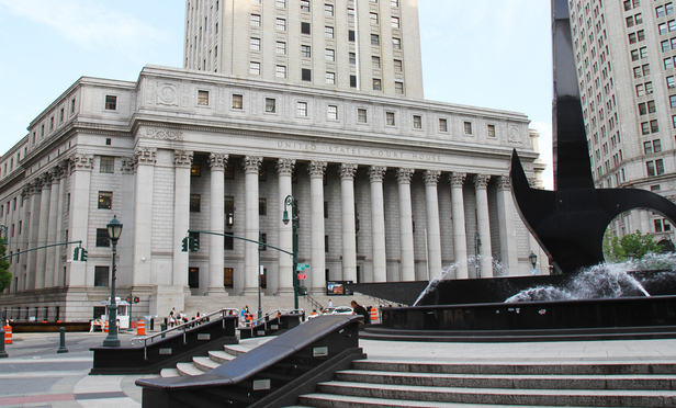 The home of the Second Circuit at the Thurgood Marshall U.S. Courthouse in Manhattan.