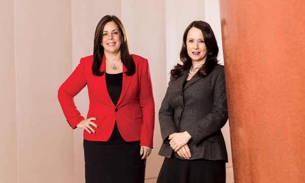 Yvette Ostolaza (left) and Angela Fontana.