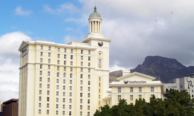 The Southern Sun hotel in Cape Town, South Africa, is owned and operated by Tsogo Sun.