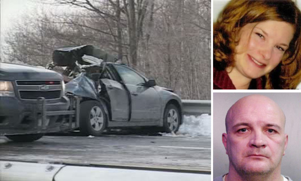 Julie Stratton was killed in 2009 on the New York State Thruway, near Pembroke, when her car was hit by a leased tractor-trailer truck operated by Thomas Wallace, who was watching pornography at the time.