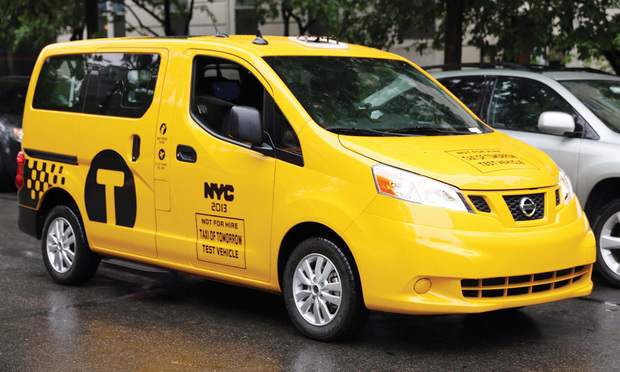 The New York City Taxi & Limousine Commission chose the Nissan NV200 as the 'Taxi of Tomorrow.'