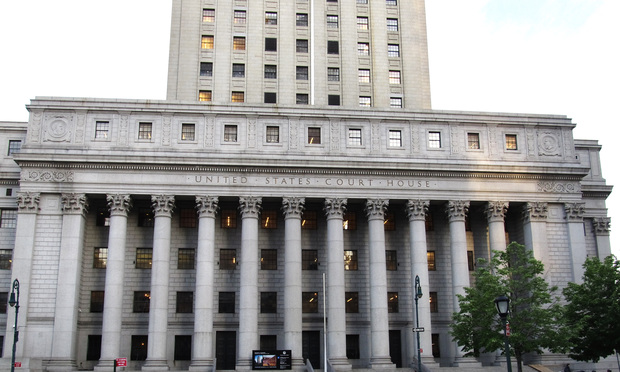 The U.S. Court of Appeals for the Second Circuit in Manhattan.